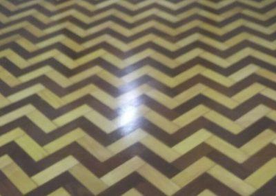 tratamento piso de madeira antigo